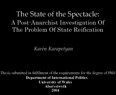 the state of the spectacle-karen karapetyan
