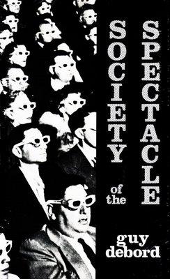 """Portada de 'La Sociedad del Espectáculo"""", Guy Debord, 1967"""